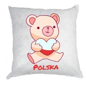 Poduszka Miś Polska