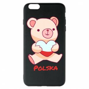 Etui na iPhone 6 Plus/6S Plus Miś Polska