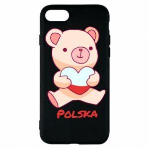 Etui na iPhone 7 Miś Polska