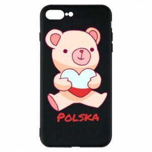Etui do iPhone 7 Plus Miś Polska