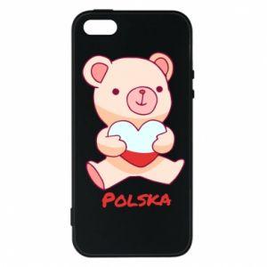 Etui na iPhone 5/5S/SE Miś Polska