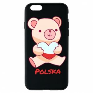 Etui na iPhone 6/6S Miś Polska