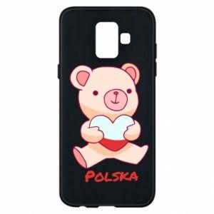 Etui na Samsung A6 2018 Miś Polska