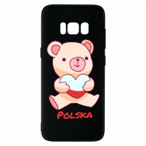 Etui na Samsung S8 Miś Polska