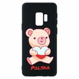 Etui na Samsung S9 Miś Polska