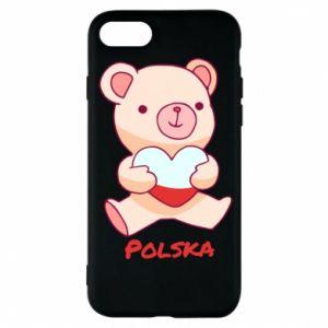 Etui na iPhone 8 Miś Polska