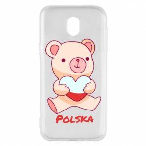 Etui na Samsung J5 2017 Miś Polska