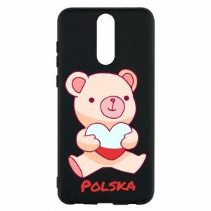 Etui na Huawei Mate 10 Lite Miś Polska