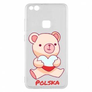 Etui na Huawei P10 Lite Miś Polska