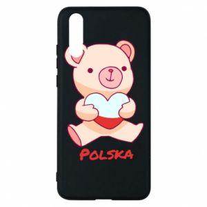 Etui na Huawei P20 Miś Polska