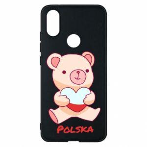 Etui na Xiaomi Mi A2 Miś Polska