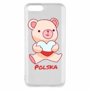 Etui na Xiaomi Mi6 Miś Polska