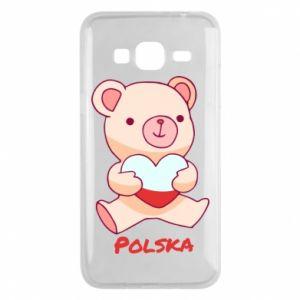 Etui na Samsung J3 2016 Miś Polska