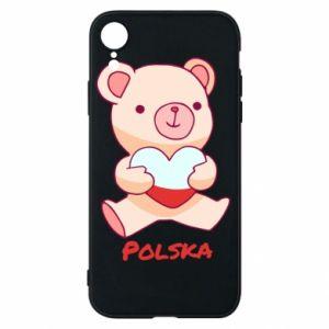 Etui na iPhone XR Miś Polska