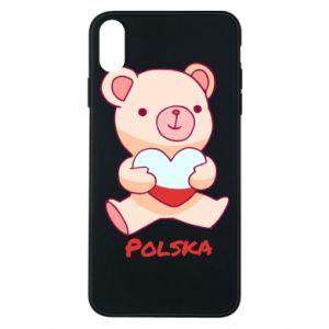 Etui na iPhone Xs Max Miś Polska