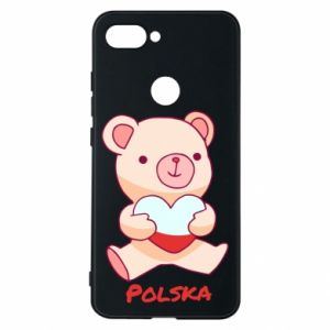 Etui na Xiaomi Mi8 Lite Miś Polska
