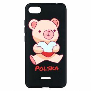 Etui na Xiaomi Redmi 6A Miś Polska