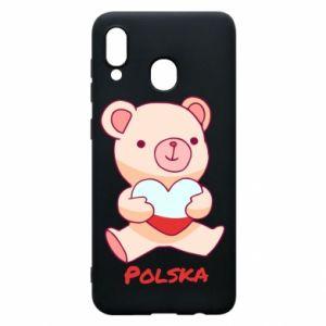 Etui na Samsung A30 Miś Polska