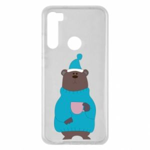 Xiaomi Redmi Note 8 Case Teddy bear in pajamas
