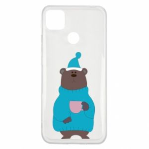 Xiaomi Redmi 9c Case Teddy bear in pajamas