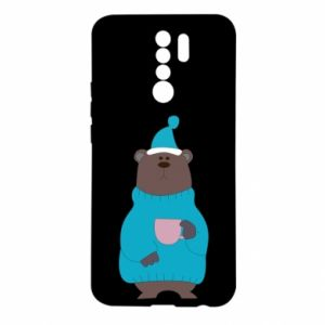 Xiaomi Redmi 9 Case Teddy bear in pajamas