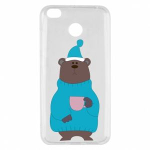 Xiaomi Redmi 4X Case Teddy bear in pajamas