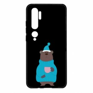 Xiaomi Mi Note 10 Case Teddy bear in pajamas