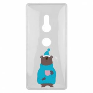 Sony Xperia XZ2 Case Teddy bear in pajamas