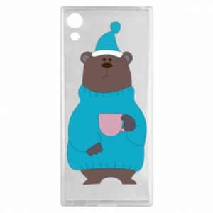 Sony Xperia XA1 Case Teddy bear in pajamas