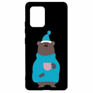 Samsung S10 Lite Case Teddy bear in pajamas