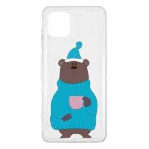Samsung Note 10 Lite Case Teddy bear in pajamas