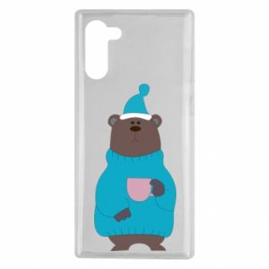 Samsung Note 10 Case Teddy bear in pajamas
