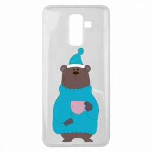Samsung J8 2018 Case Teddy bear in pajamas