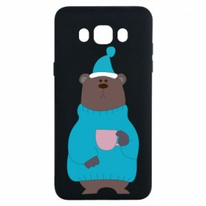 Samsung J7 2016 Case Teddy bear in pajamas