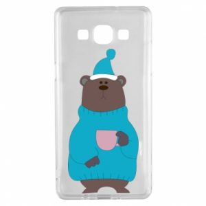 Samsung A5 2015 Case Teddy bear in pajamas