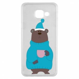 Samsung A3 2016 Case Teddy bear in pajamas