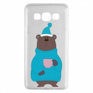 Samsung A3 2015 Case Teddy bear in pajamas