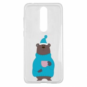 Nokia 5.1 Plus Case Teddy bear in pajamas