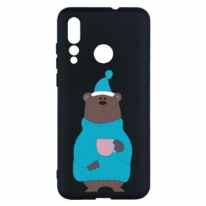 Huawei Nova 4 Case Teddy bear in pajamas