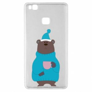 Huawei P9 Lite Case Teddy bear in pajamas