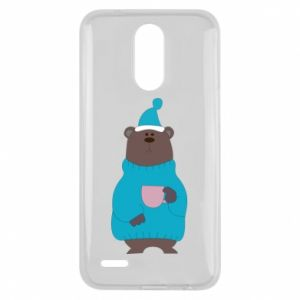 Lg K10 2017 Case Teddy bear in pajamas