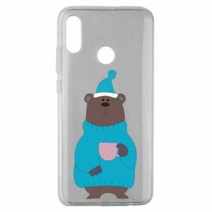 Huawei Honor 10 Lite Case Teddy bear in pajamas