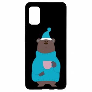 Samsung A41 Case Teddy bear in pajamas