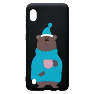 Samsung A10 Case Teddy bear in pajamas