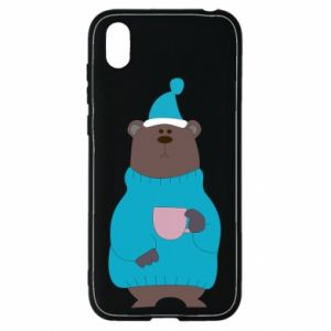 Huawei Y5 2019 Case Teddy bear in pajamas