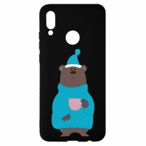 Huawei P Smart 2019 Case Teddy bear in pajamas
