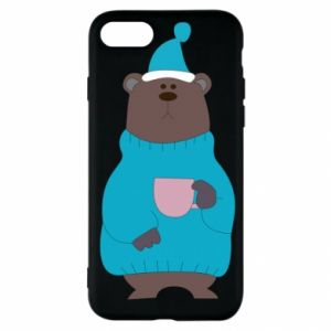 iPhone SE 2020 Case Teddy bear in pajamas