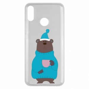 Huawei Y9 2019 Case Teddy bear in pajamas