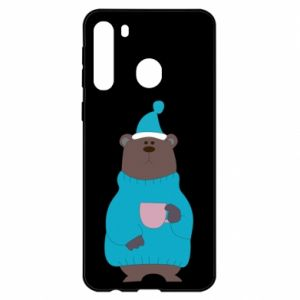 Samsung A21 Case Teddy bear in pajamas