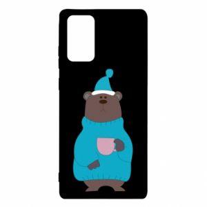Samsung Note 20 Case Teddy bear in pajamas